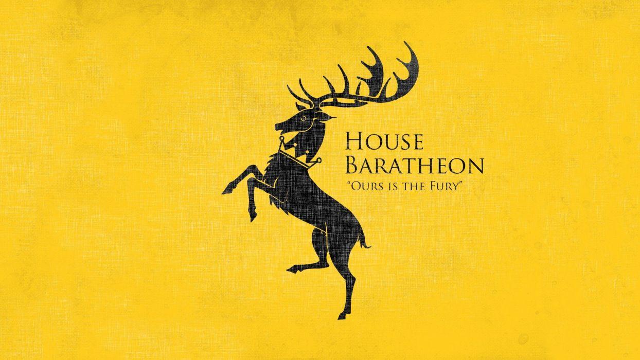 yellow Game of Thrones TV series House Baratheon wallpaper