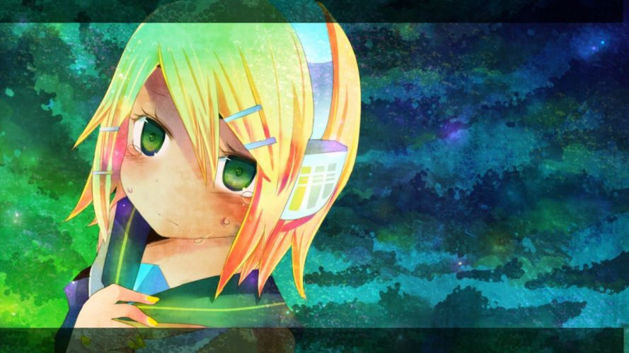 Vocaloid Kagamine Rin wallpaper