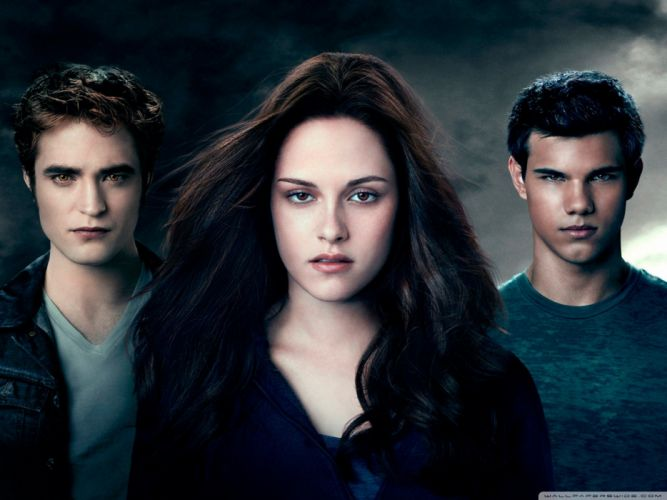 Kristen Stewart Twilight Robert Pattinson Taylor Lautner Edward Cullen Jacob Black Bella Swan wallpaper