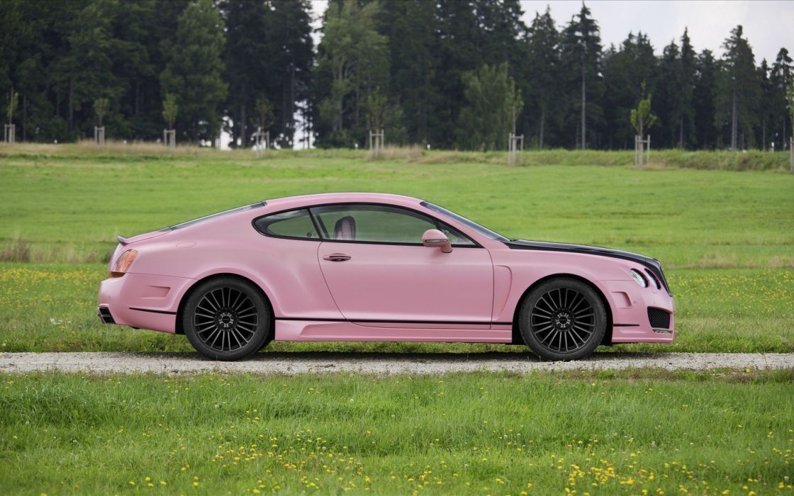 pink cars Bentley vehicles wallpaper