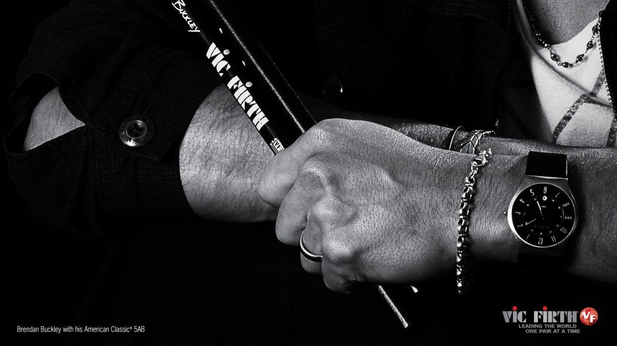Drums Drum Sticks Brendan Vic Firth Buckley Wallpaper