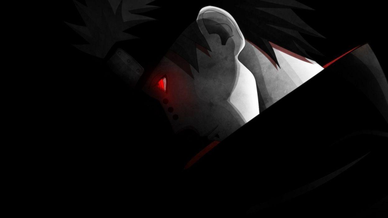 Naruto: Shippuden Akatsuki red eyes piercings anime anime boys Pein glowing eyes wallpaper