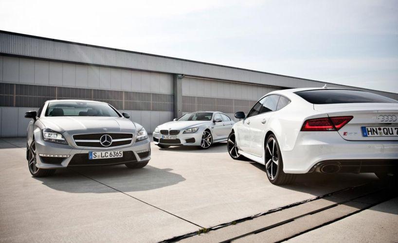 Audi & Benz & BMW wallpaper