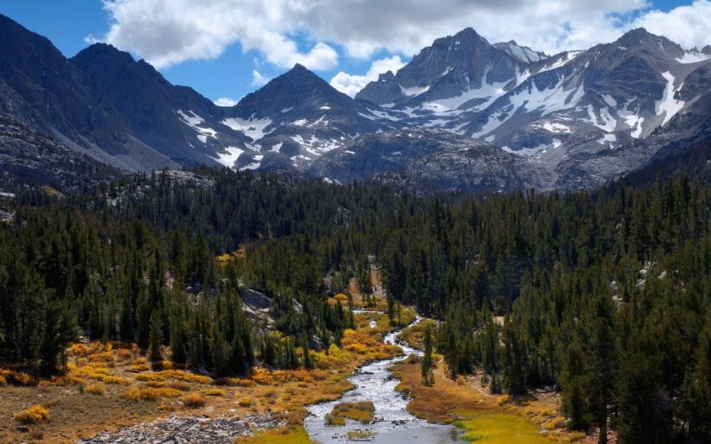 mountains nature rivers wallpaper