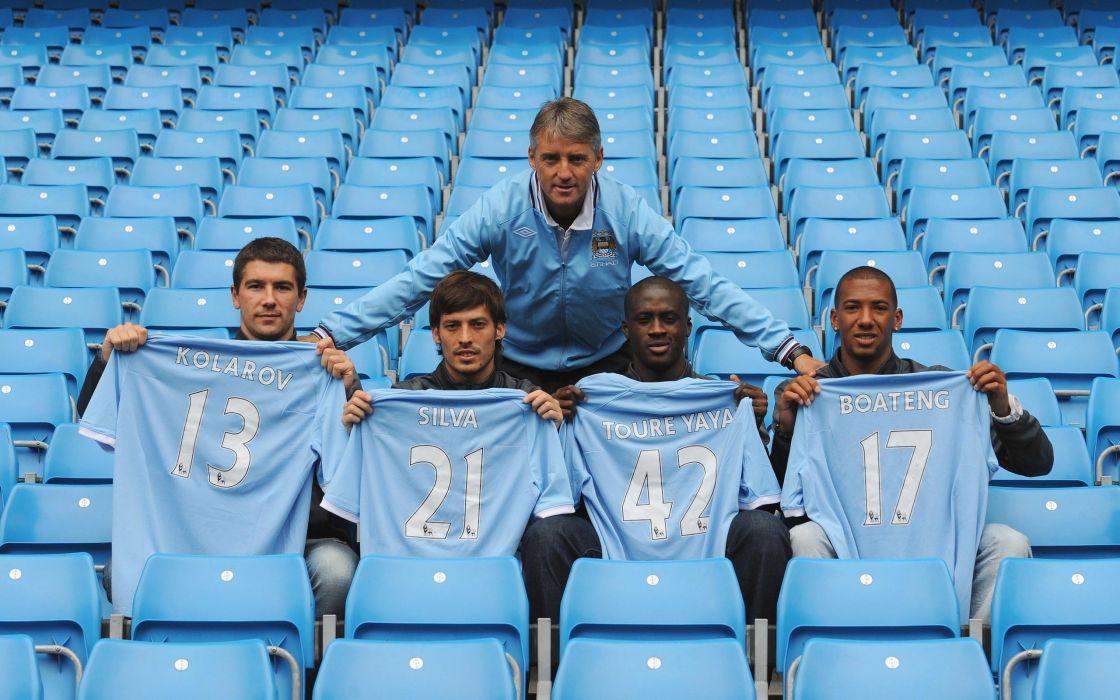 Manchester City David Silva Yaya TourAIA wallpaper