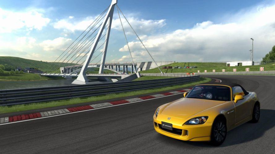 video games cars Honda S2000 sports cars Gran Turismo 5 Playstation 3 wallpaper