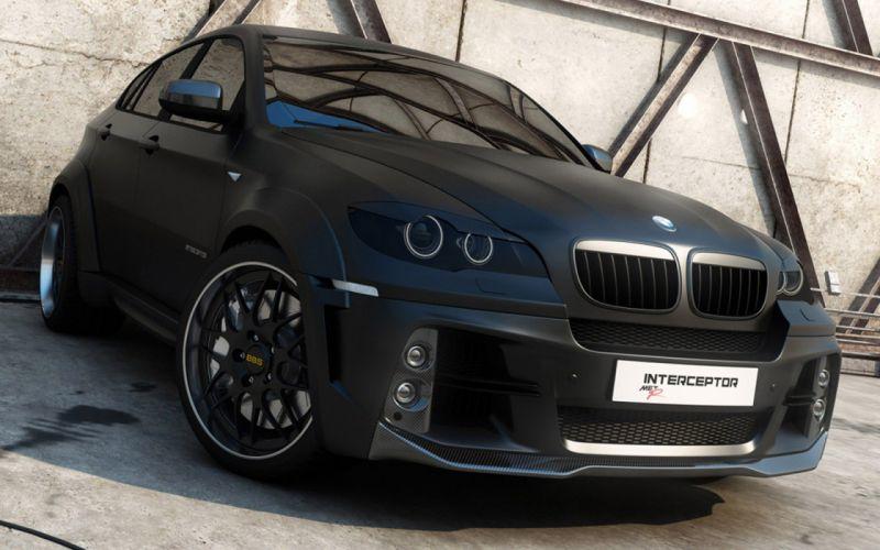 BMW cars BMW X6 matte wallpaper