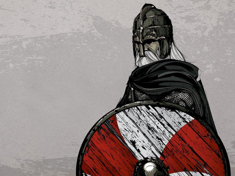 Vikings artwork wallpaper
