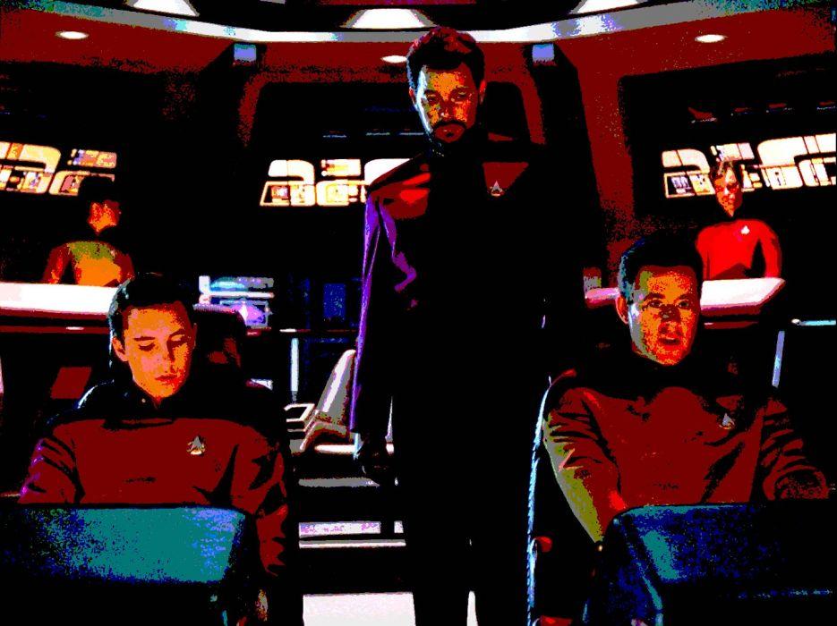 NEXT GENERATION Star Trek sci-fi adventure action television futuristic series drama (1) wallpaper