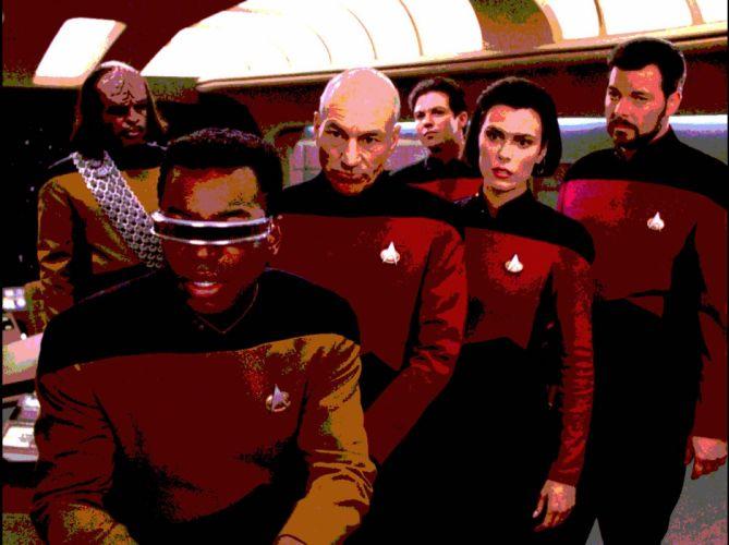 NEXT GENERATION Star Trek sci-fi adventure action television futuristic series drama (4) wallpaper