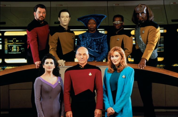 NEXT GENERATION Star Trek sci-fi adventure action television futuristic series drama (19) wallpaper