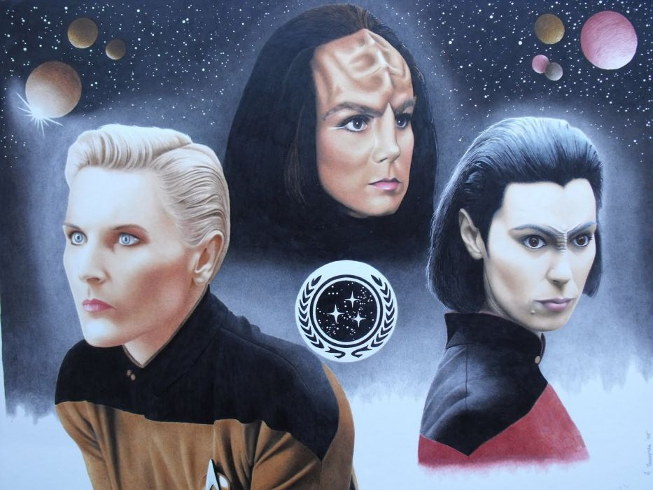 NEXT GENERATION Star Trek sci-fi adventure action television futuristic series drama (27) wallpaper
