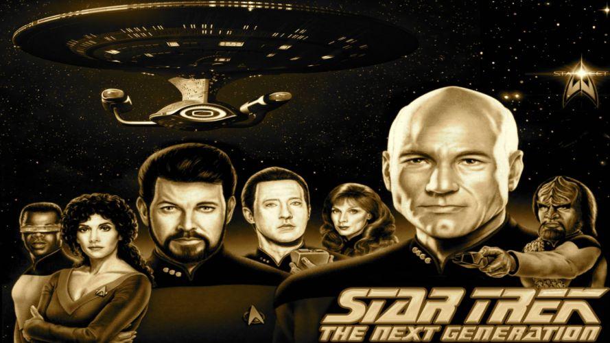 NEXT GENERATION Star Trek sci-fi adventure action television futuristic series drama (32) wallpaper