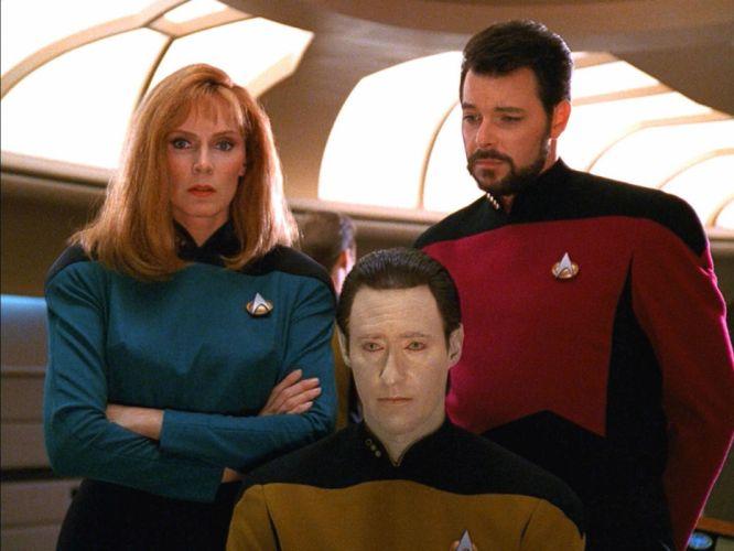 NEXT GENERATION Star Trek sci-fi adventure action television futuristic series drama (40) wallpaper