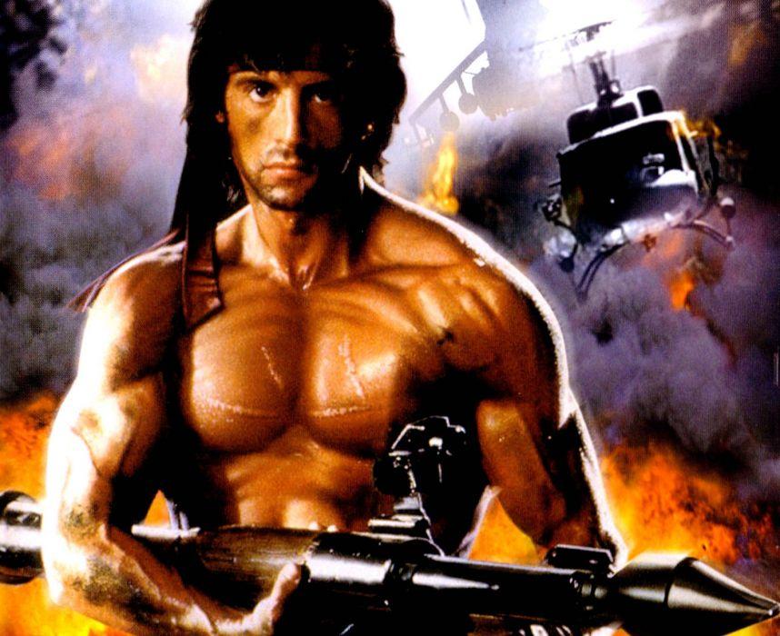 RAMBO action adventure drama movie film warrior (1) wallpaper