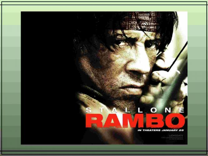 RAMBO action adventure drama movie film warrior (10) wallpaper