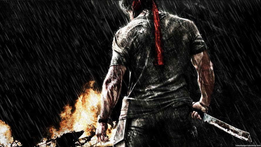RAMBO action adventure drama movie film warrior (17) wallpaper