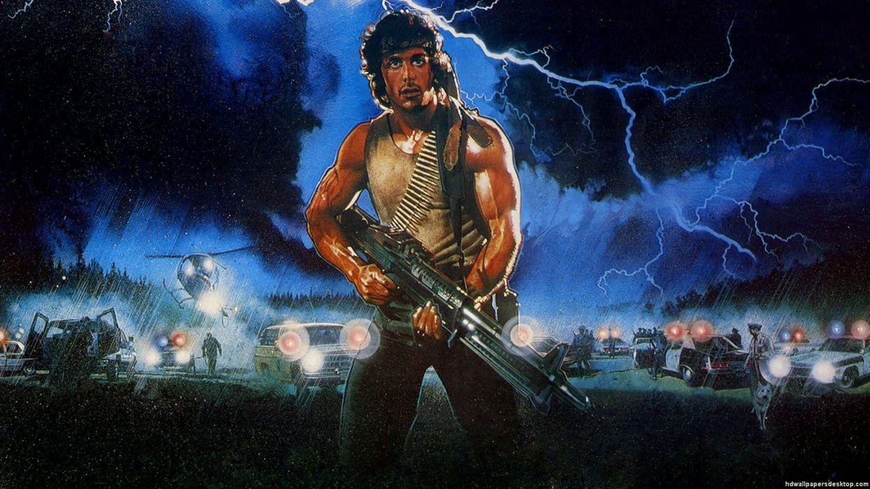 RAMBO action adventure drama movie film warrior (18) wallpaper