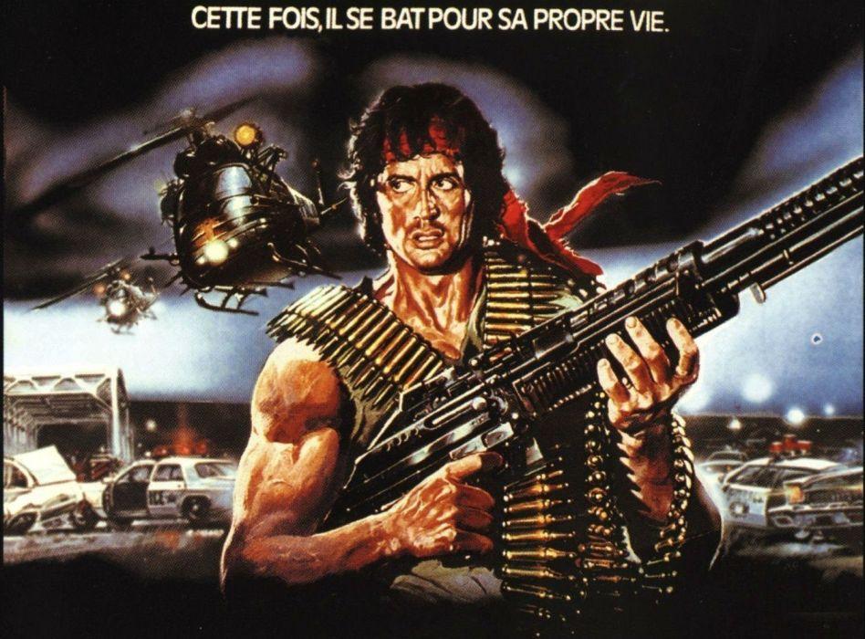 RAMBO action adventure drama movie film warrior (19) wallpaper