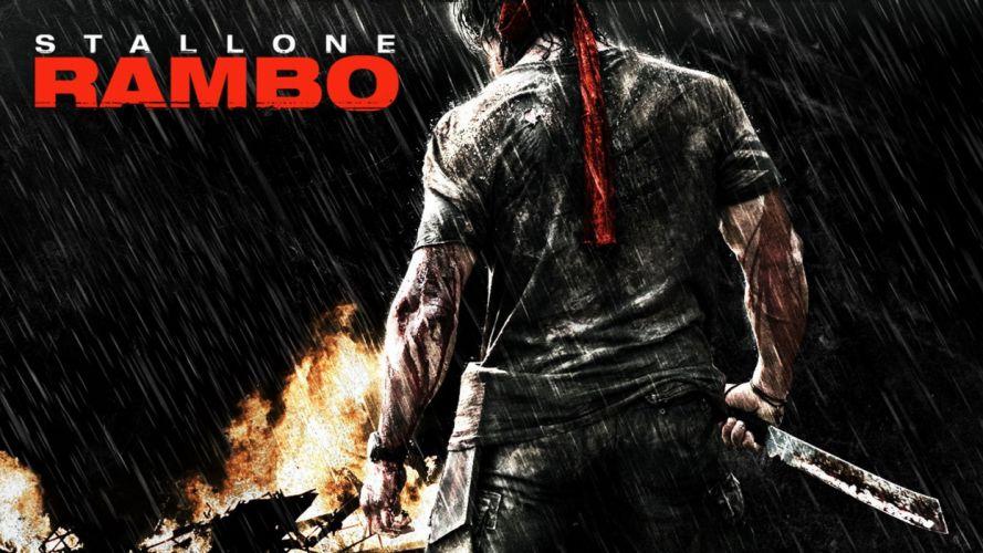 RAMBO action adventure drama movie film warrior (20) wallpaper