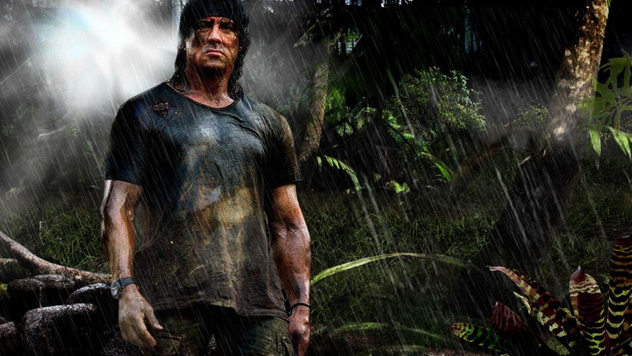 RAMBO action adventure drama movie film warrior (21) wallpaper