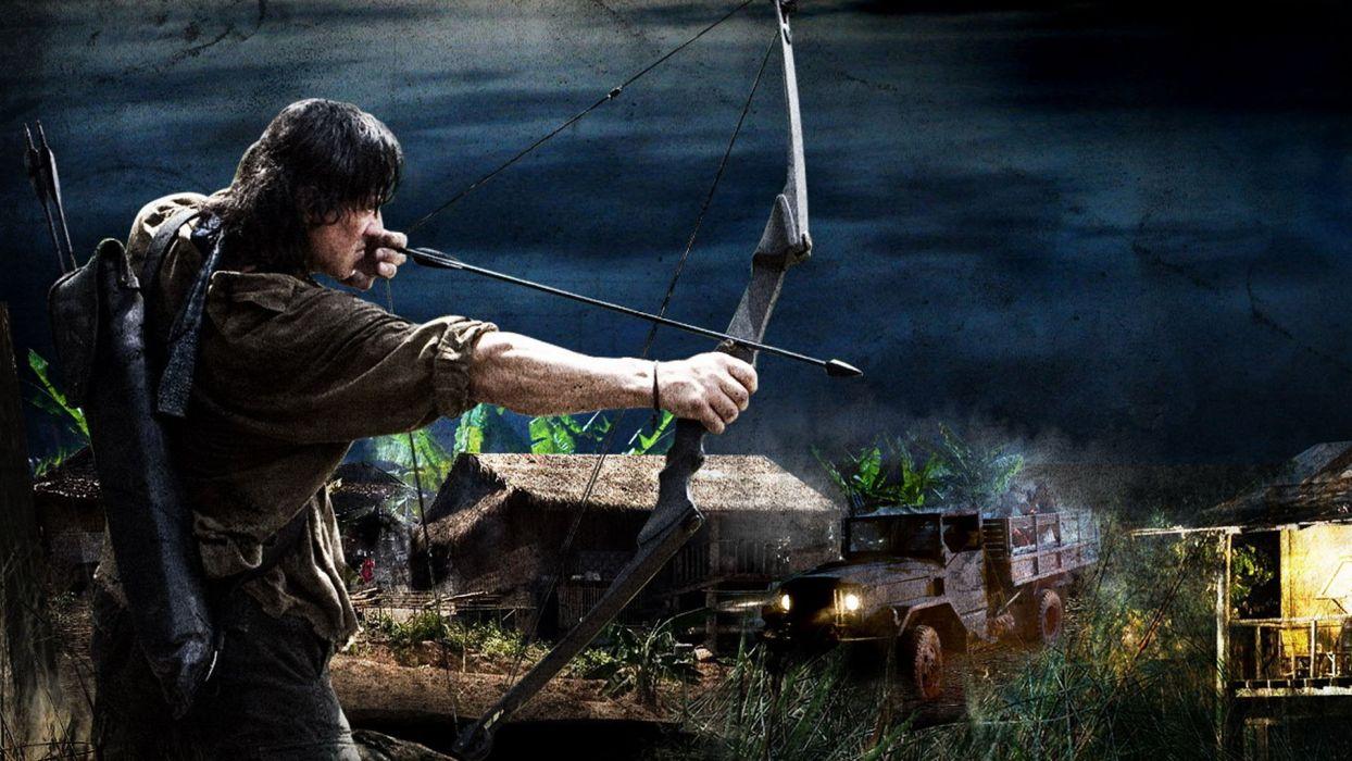 RAMBO action adventure drama movie film warrior (22) wallpaper