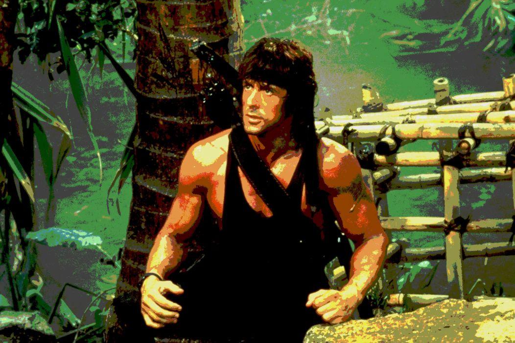RAMBO action adventure drama movie film warrior (32) wallpaper