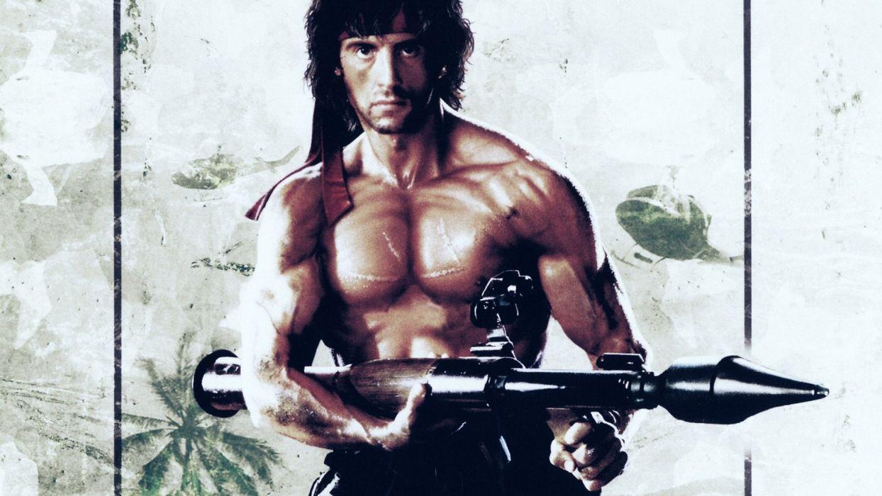 RAMBO action adventure drama movie film warrior (40) wallpaper
