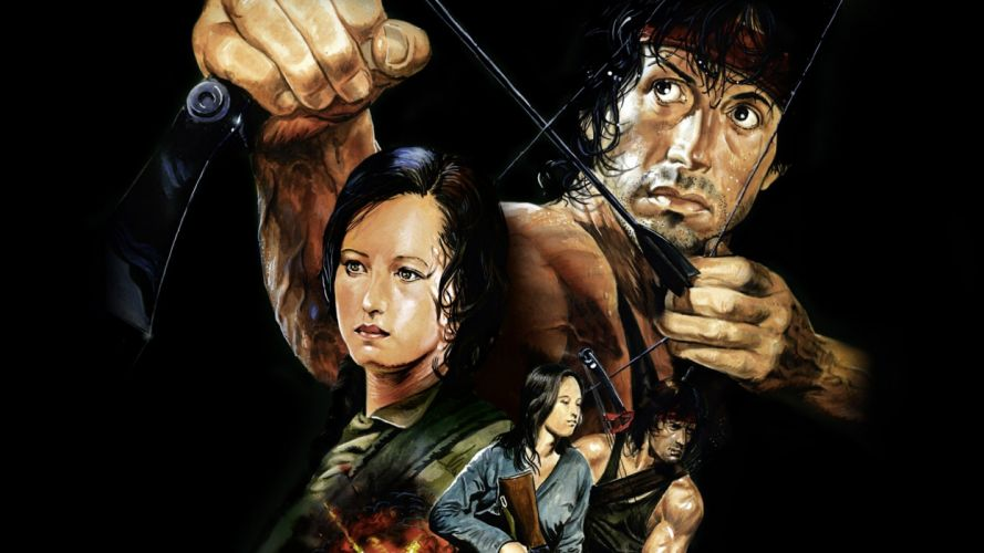 RAMBO action adventure drama movie film warrior (50) wallpaper