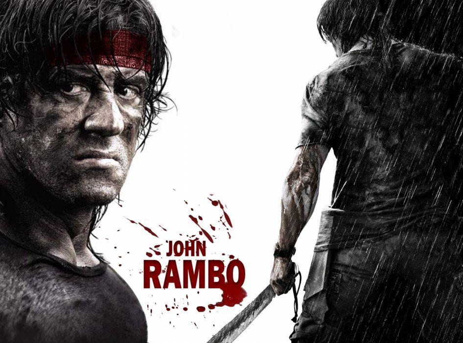 RAMBO action adventure drama movie film warrior (52) wallpaper