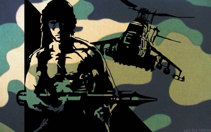 RAMBO action adventure drama movie film warrior (70) wallpaper