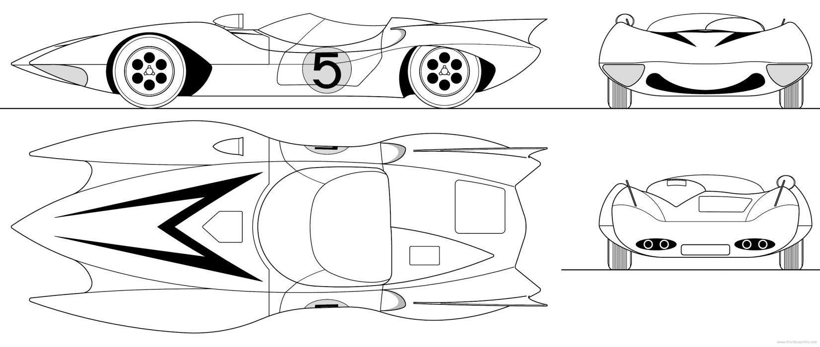 SPEED RACER action family sport race cartoon race racing (3) wallpaper