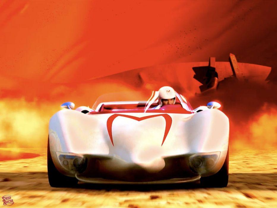 SPEED RACER action family sport race cartoon race racing (4) wallpaper
