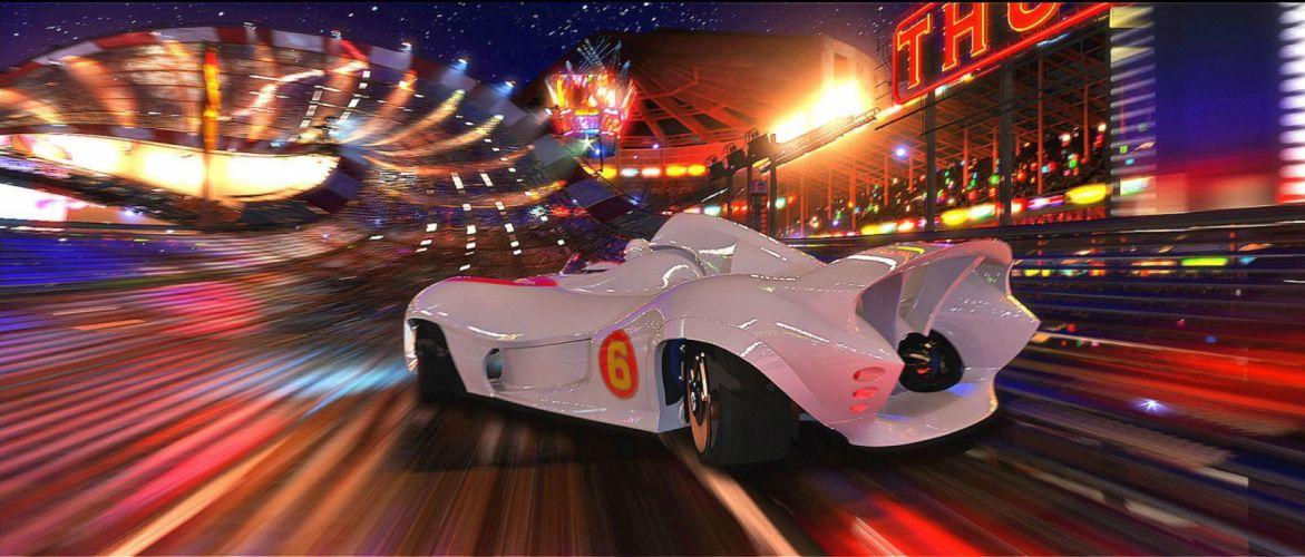 SPEED RACER action family sport race cartoon race racing (9) wallpaper