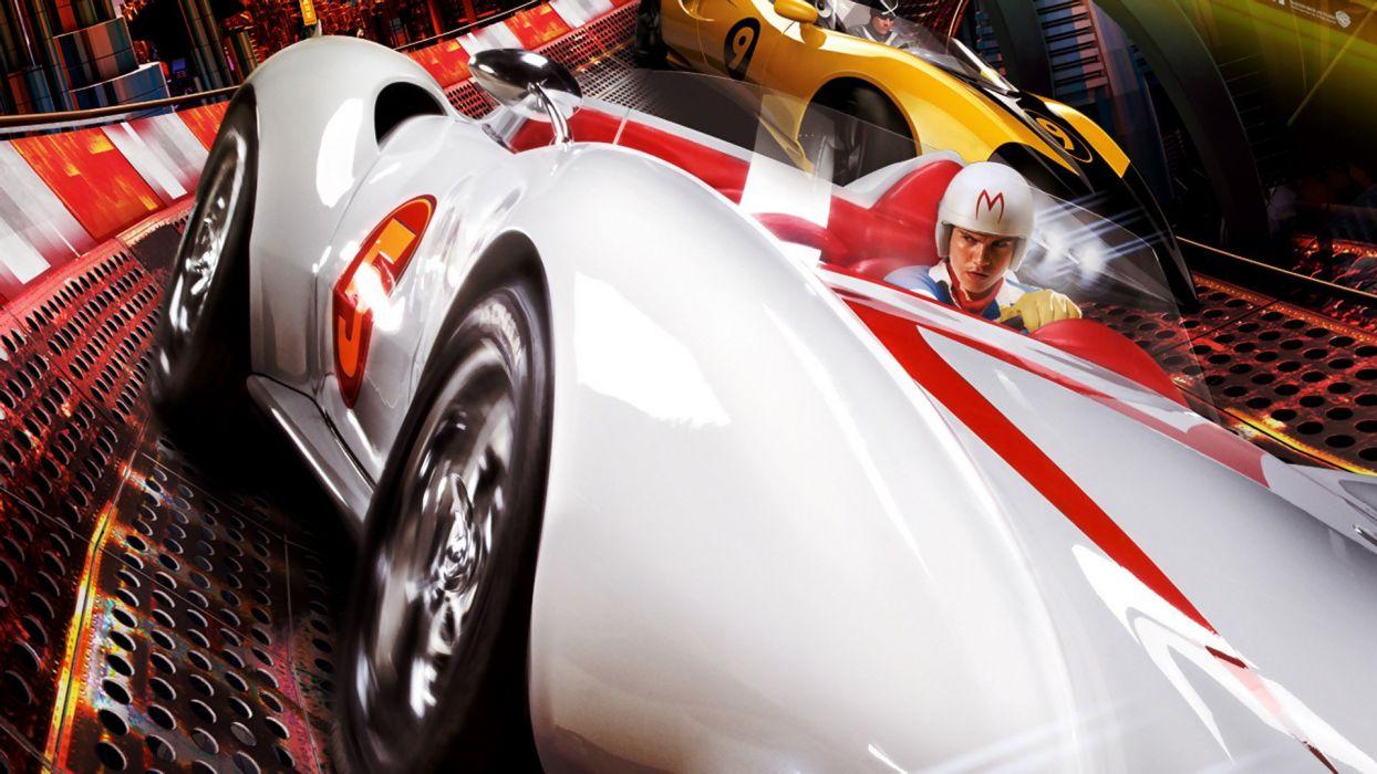 SPEED RACER action family sport race cartoon race racing (10) wallpaper