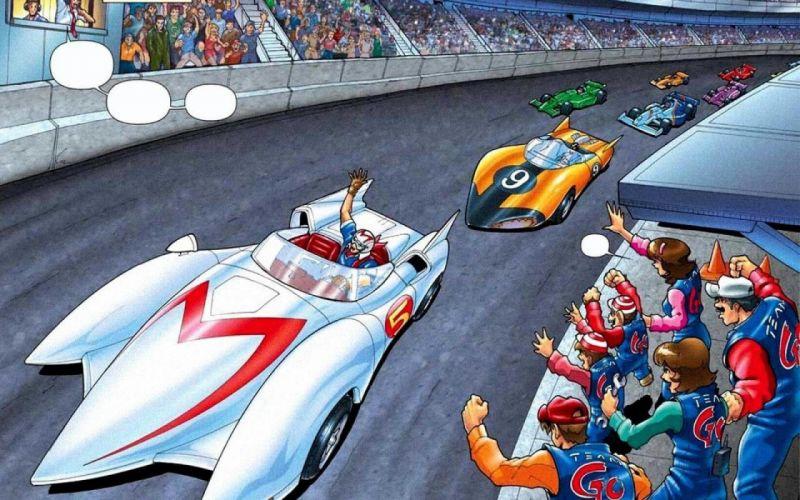SPEED RACER action family sport race cartoon race racing (42) wallpaper