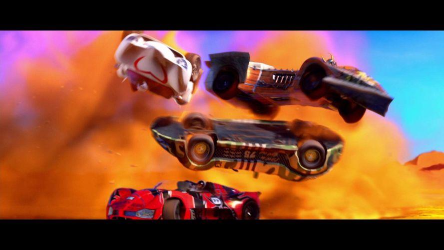 SPEED RACER action family sport race cartoon race racing (47) wallpaper