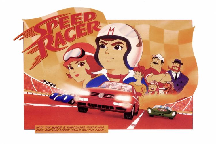 SPEED RACER action family sport race cartoon race racing (58) wallpaper