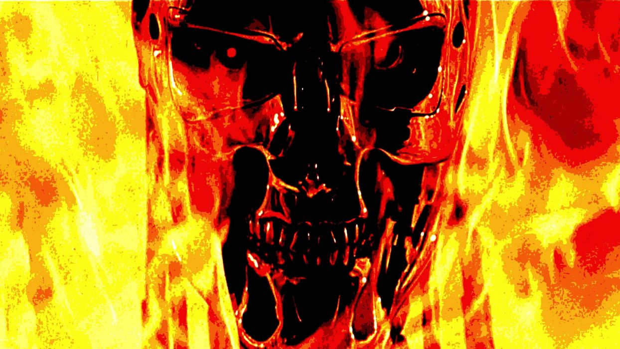 TERMINATOR sci-fi action movie film (55) wallpaper