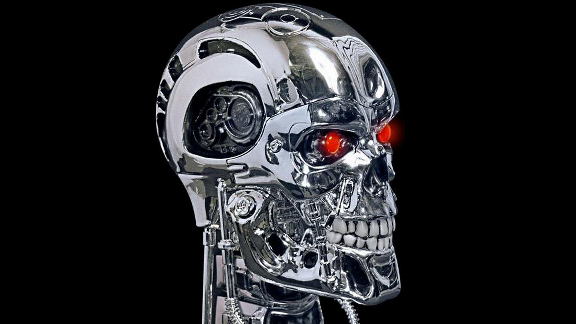 Terminator Robot Skull | www.pixshark.com - 173.1KB