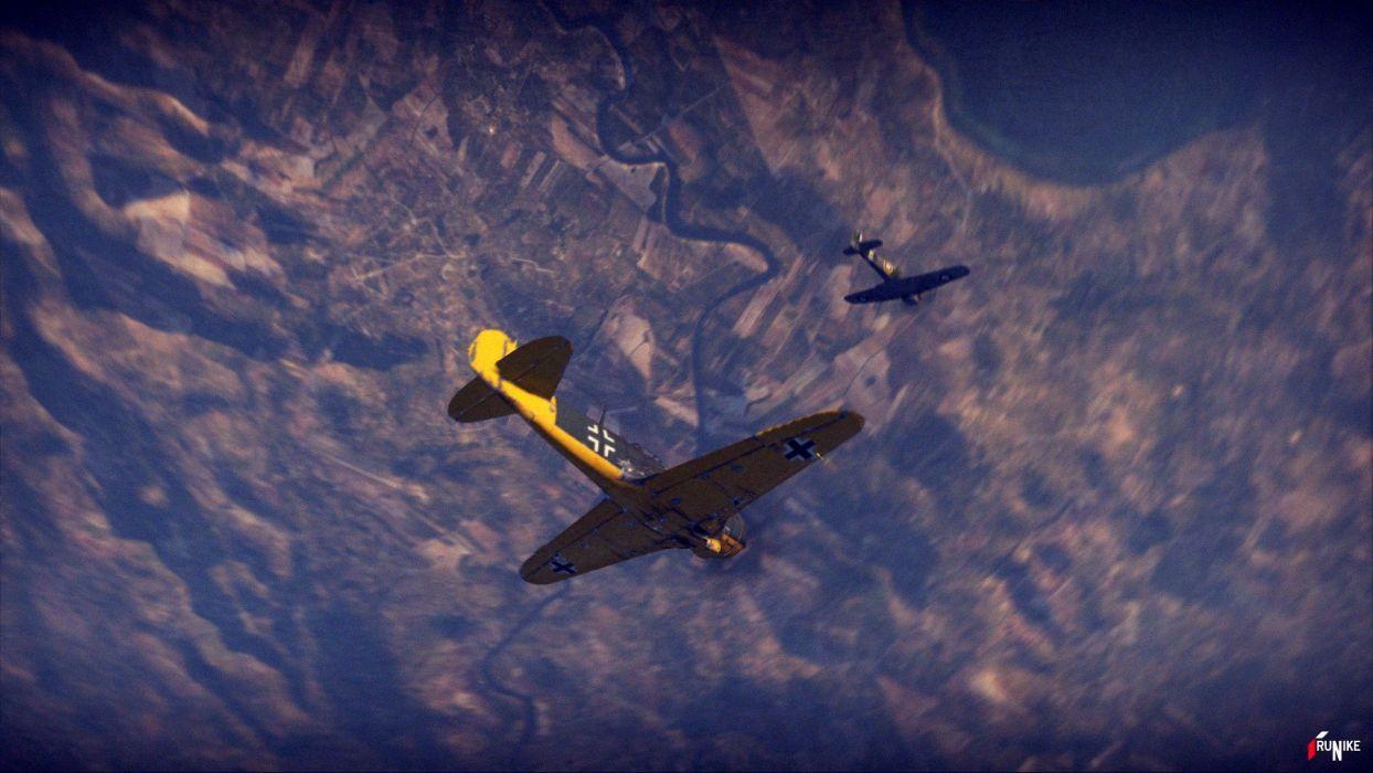 aircraft KIA Sicily War Thunder wallpaper