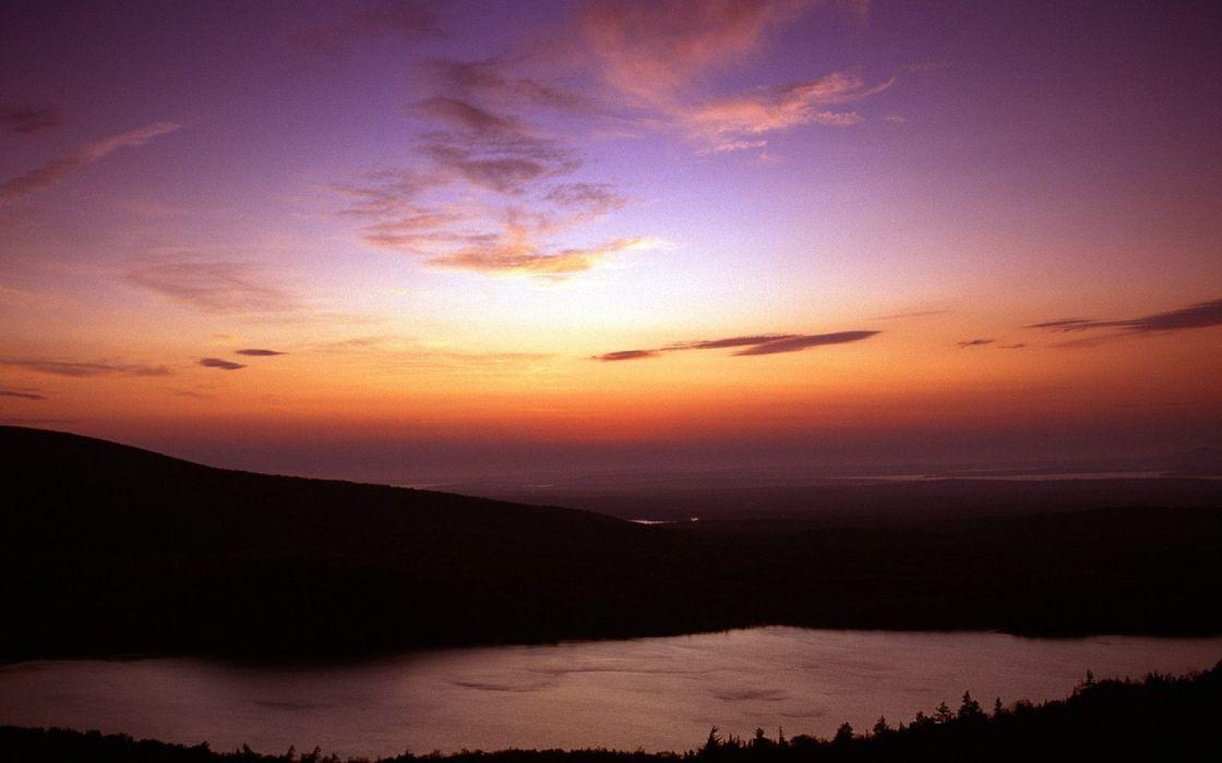 landscapes Maine National Park Acadia wallpaper