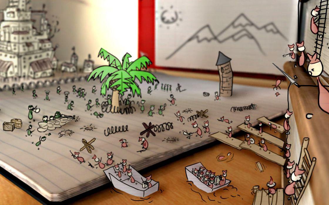 battles doodle drawings wallpaper