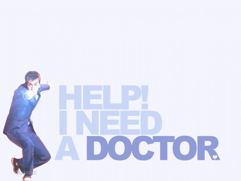 David Tennant typography Doctor Who Tenth Doctor wallpaper