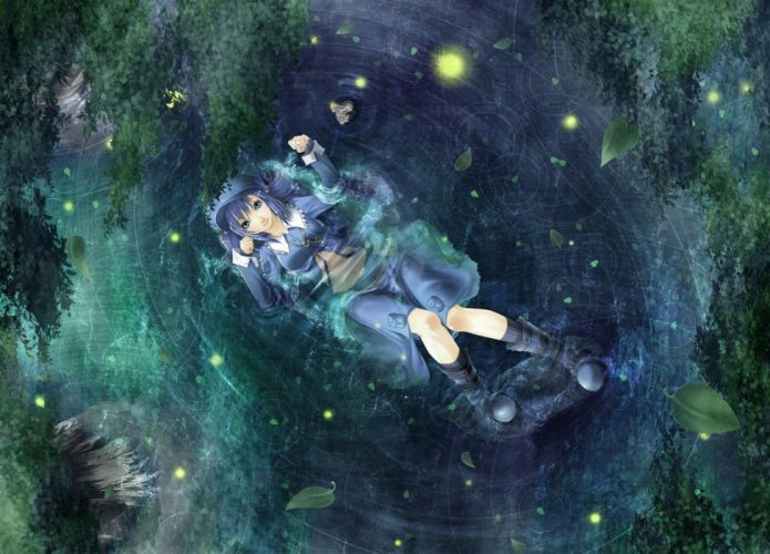video games Touhou Kawashiro Nitori anime girls wallpaper