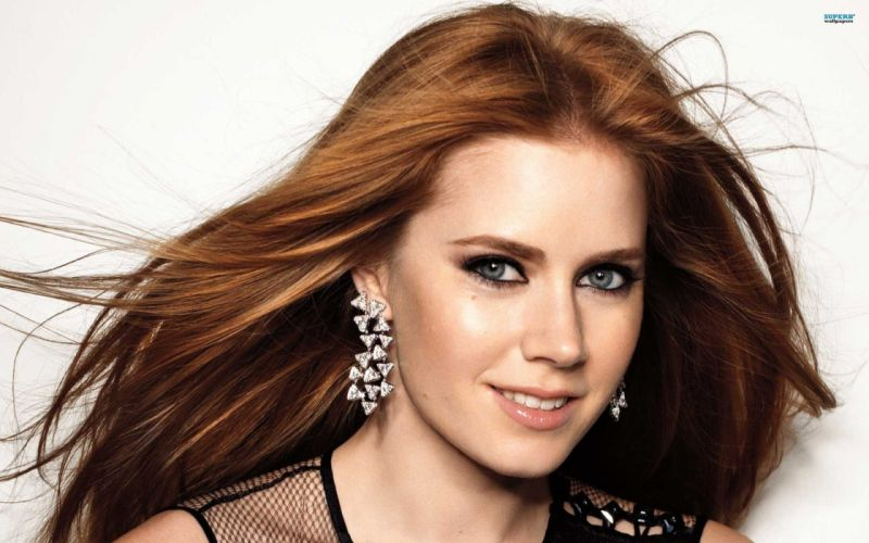 women redheads models Amy Adams wallpaper