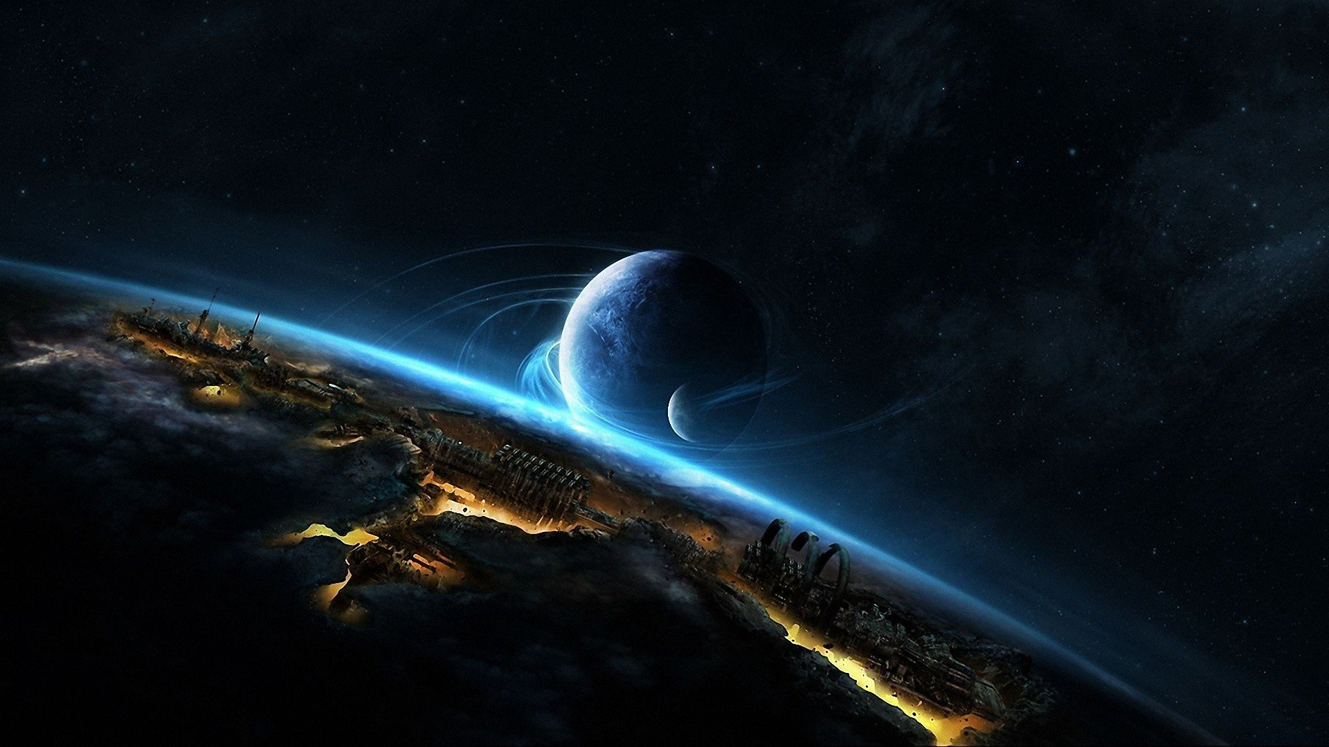 outer space wallpaper science fiction - photo #16