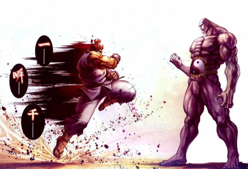 Street Fighter IV Seth Akuma artwork wallpaper