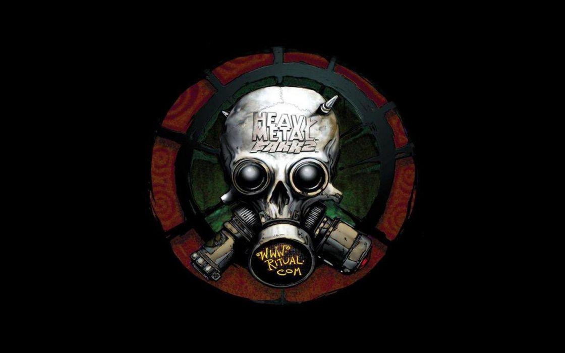 Skulls Gas Masks Wallpaper 1440x900 261865 Wallpaperup