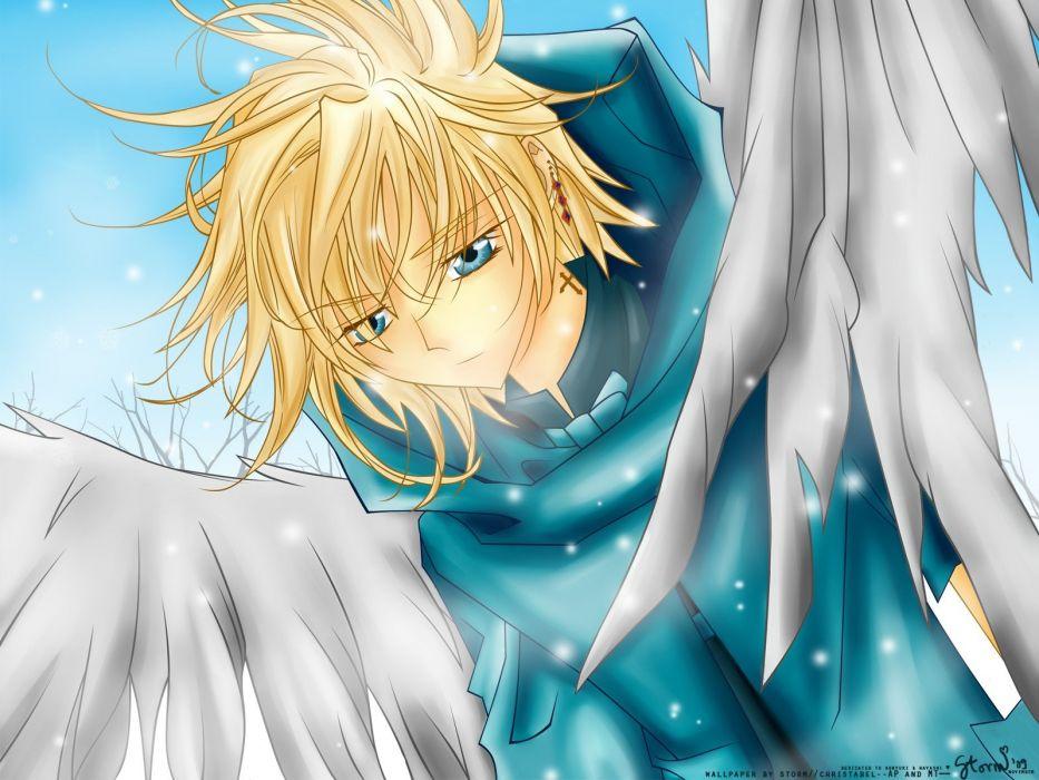 angels anime anime boys wallpaper